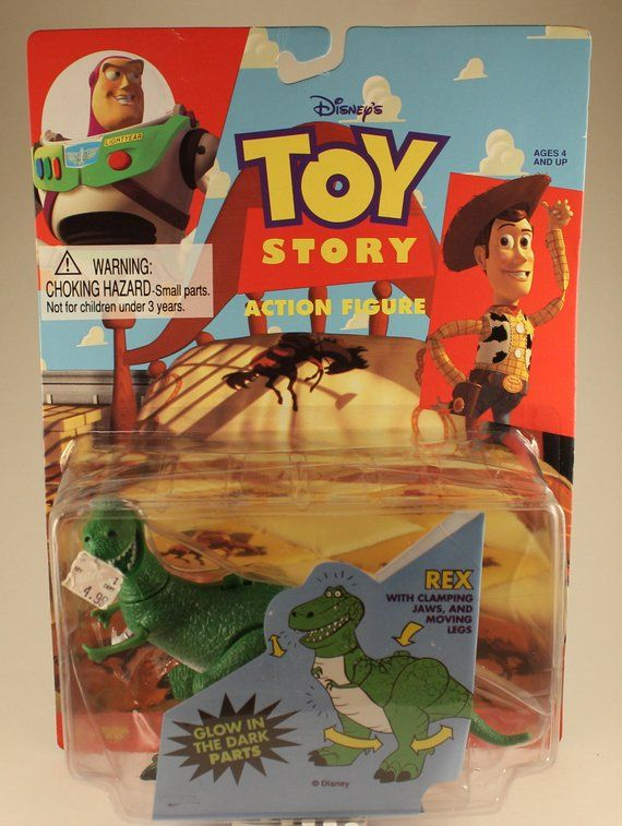 Toy Story Rex Action Figure Action Figures Toy Story Baby Toy Story