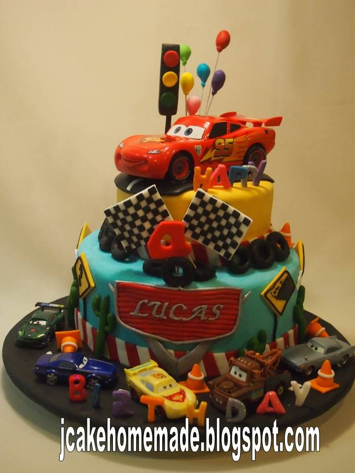 The 17 best images about Karter on Pinterest Cars Car cakes and