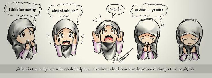 always turn to Allah by madimar.deviantart.com on @deviantART