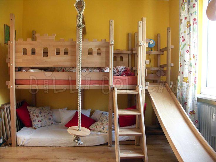 25+ parasta ideaa Pinterestissä Hochbett Kleinkind Kinderbett - schlafzimmer mit bettüberbau