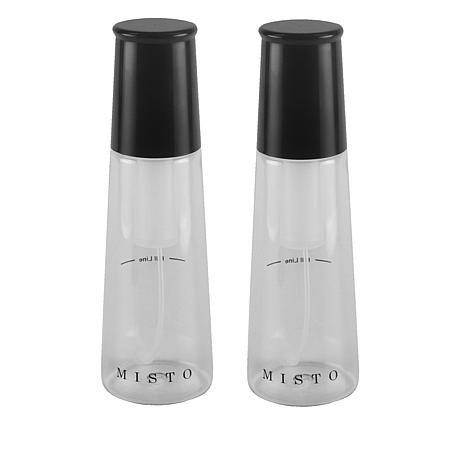 Misto Set of 2 Gourmet Olive Oil Sprayers