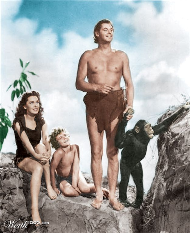 CAST OF TARZAN