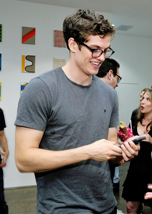 Daniel Sharman attends Landon Ross: ARTIfACT exhibition opening at LAXART on July 14, 2016 in Los Angeles, California. (Photo by John Sciulli/WireImage)