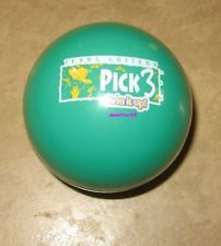 TEXAS LOTTERY PICK 3 Green MAGIC 8 BALL NUMBER PICKER WINNING NUMBER GENERATOR