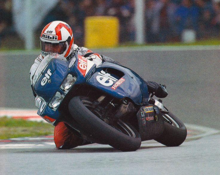 1983 World Endurance Championship Bol d'Or 24H Eif-e Honda Christian LeLiard