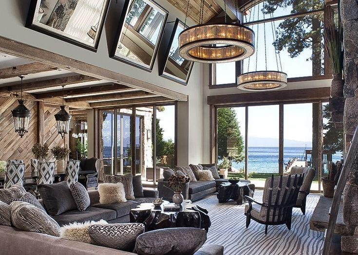 Jeff Andrews design #modernlivingroom #livingroomdecor take a look at http://diningandlivingroom.com/