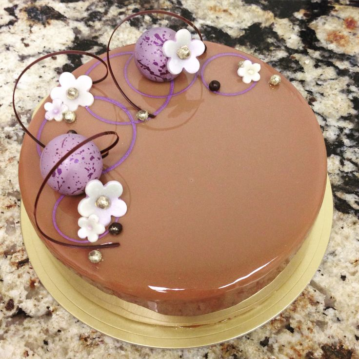 #normanloveconfections #pastry #patisserie #chocolate #cake #glaze #entremet