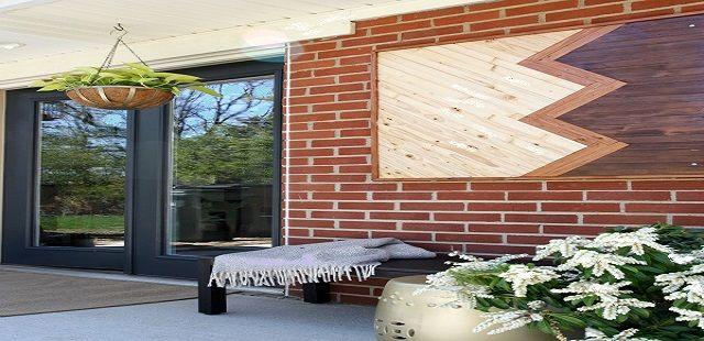 Outdoor Wooden Wall Decor