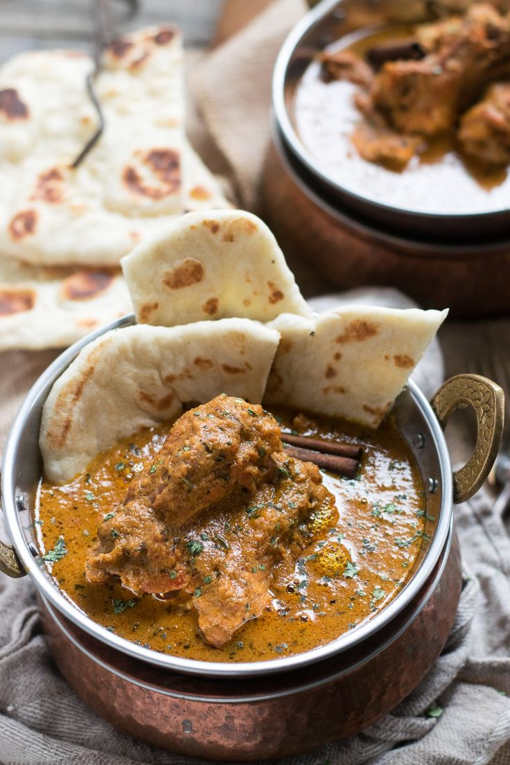 Badami Chicken Curry - Almond Milk Curry | Delicious Chicken Curry Simmered in Almond Milk and Indian Spices |whitbitskitchen.com