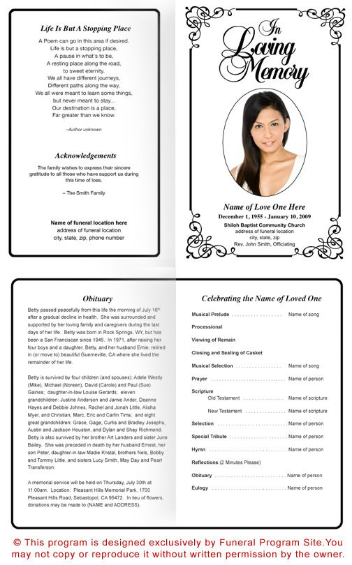 22 best funeral cards images on Pinterest Funeral cards, Funeral - free funeral announcement template