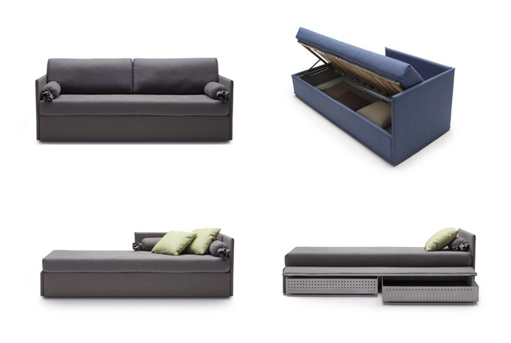 Jack, practical and versatile sofabeds program.
