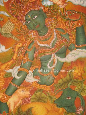 Kerala Murals: Gallery