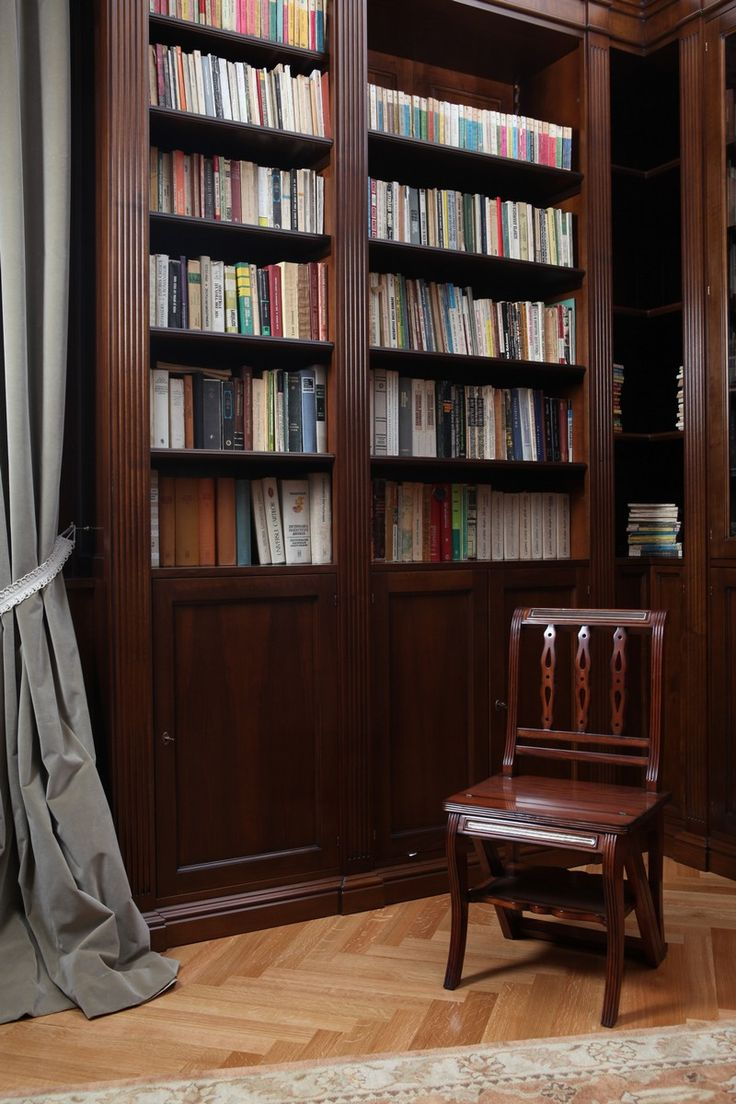 Proiecte Design - La Maison - walnut library
