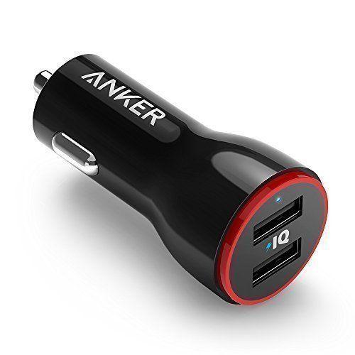 Anker PowerDrive 2 Auto Ladegerät 24W 4.8A 2 Port USB KFZ für iPhone iPad Galaxy