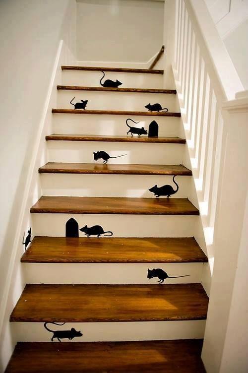 attraktive bücher treppen