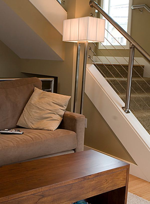 33 best images about railings inside and out on pinterest cable modern stair railing and. Black Bedroom Furniture Sets. Home Design Ideas