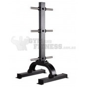 Vertical Plate Tree  Dimensions (L×W×H):     61cm × 58cm × 124cm   For more info visit: http://www.gymandfitness.com.au/diamond-series-vertical-plate-tree.html