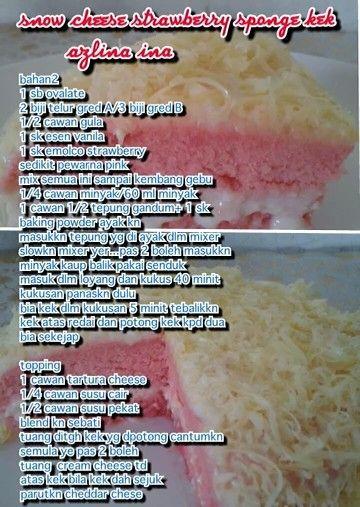 Snow cheese sponge cake