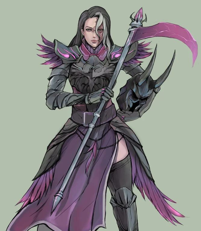 OC Melena Dyrk, my Paladin/Warlock for a tier 4 game. Commission : DnD | Paladin, Dark ...