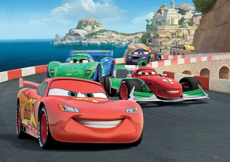 fototapet copii Cars Disney (2)
