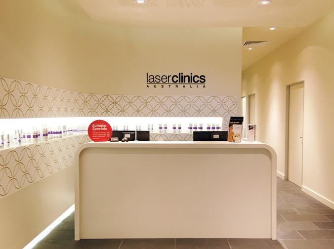 Laser Clinics Australia Retail Design by e2.
