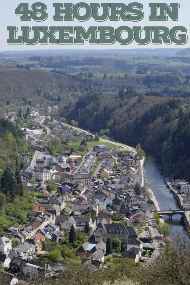 Luxembourg City and the city of Vianden, featuring the beautiful Vianden castle. Read my post on why I fell in love with Luxembourg.