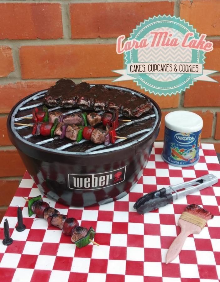 Weber BBQ  - Cake by Cara Mia Cake