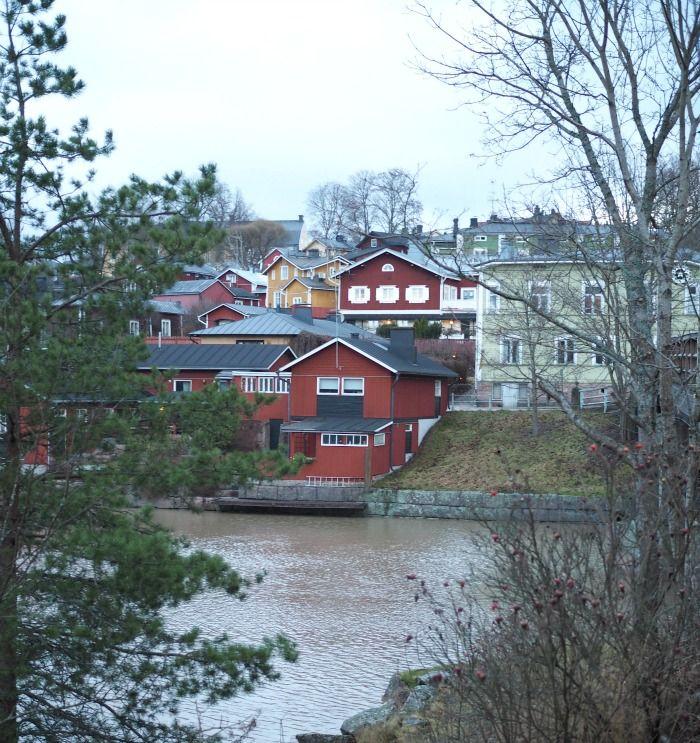 Porvoo old town in November 2015