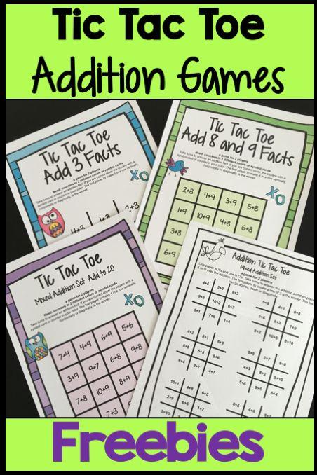 185 best Classroom Freebies images on Pinterest   Math games, Math ...