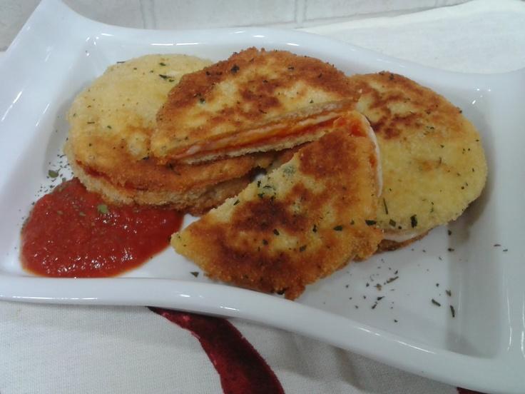 Kitchen Boss Mozzarella In Carrozza Recipe