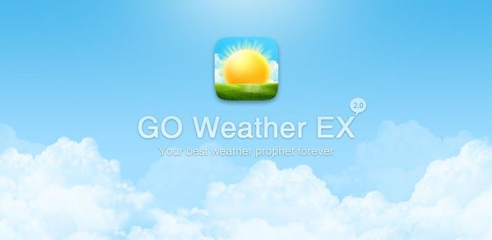 GO Weather EX  #GO #Weather #EX #Mobile #Android #Apps