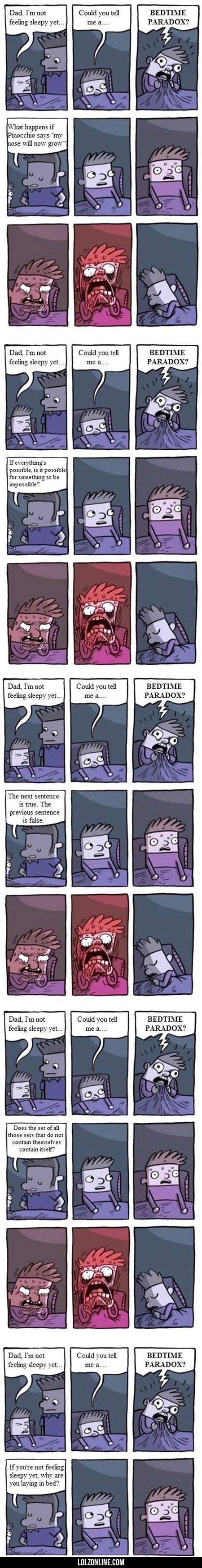Dad, I'm Not Feeling Sleepy Yet...#funny #lol #lolzonline