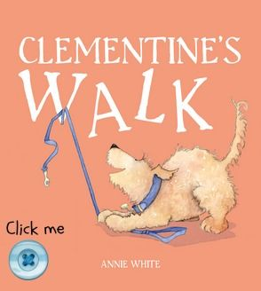Click the button to pre-order a copy of Clementine's Walk. For more picture books visit www.newfrontier.com.au #dog #kids #book #walk #cover #design #illustration
