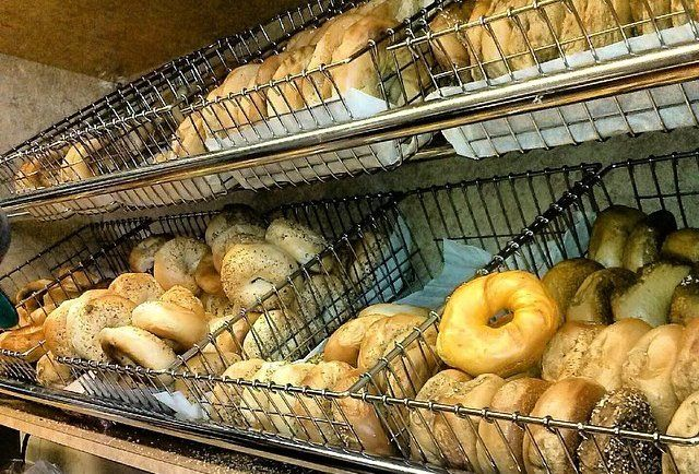 Absolute Bagels.  Best bagels in NYC, Upper West Side