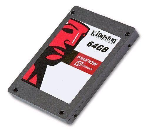 64GB Ssdnow V-series SATA2 by Kingston. $207.92. Kingston SSDNow V MLC Solid State Drive 64 GB - Serial ATA/300 - Serial ATA - Internal