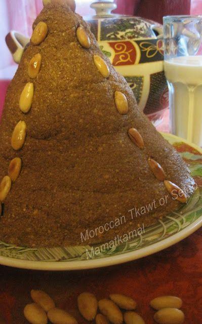 Moroccan Cuisine Marocaine: تقاوت/سْلّو/سْلِيلُو/سْفُوفْ/زمّيطة/Tquawt or T9awt (Flourless version of Sellou or Slilou)/Tquawt ou Sellou ou ...