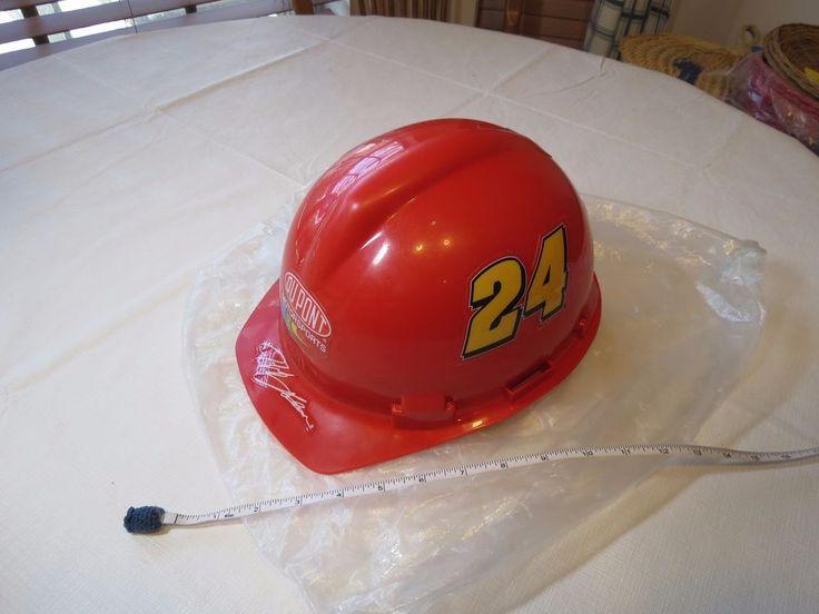Jeff Gordon 24 NASCAR JG Motorsports wincraft protective helmet hard hat stadium #Wincraft #Dupont