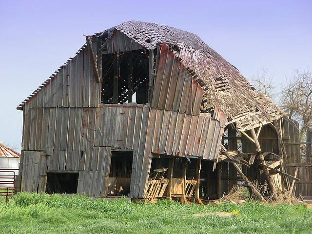 Old Wood Barn Lamar Missouri