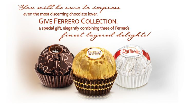 Ferrero Collection - Offer a special gift elegantly combining three of our finest layered delights!