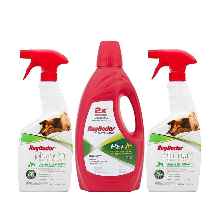 Rug Doctor Pet Care Pack, White platinum (Chemically Active Ingredients)