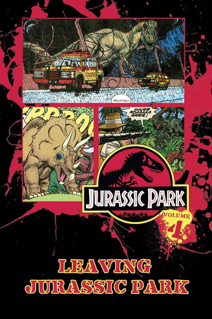 Jurassic park card 3 by chicagocubsfan24 on deviantart - Jurassic Park 4 Leaving Jurassic Park
