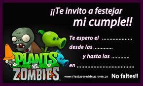 Image result for tortas de plants vs zombies