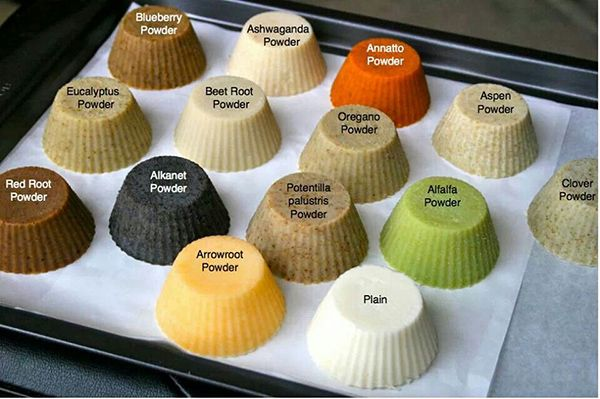 Natural Soap Colorants found    in Mother Nature • Pick  your colorant for Soap