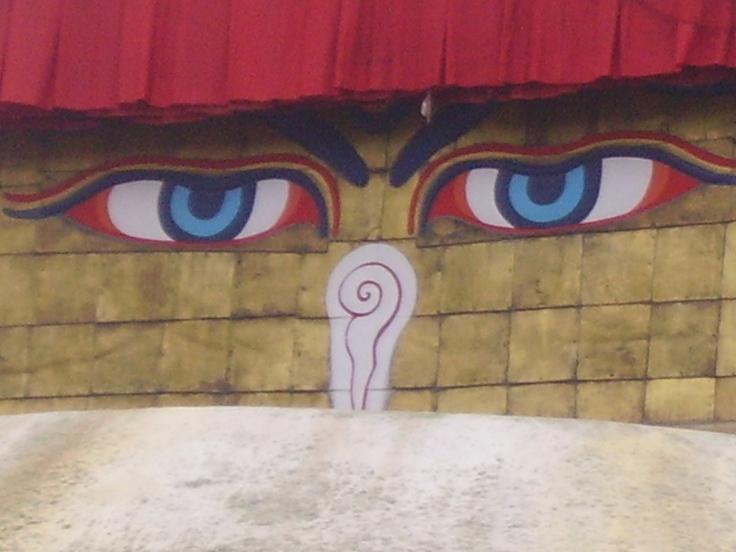 Katmandou Swayambhunath's Eyes