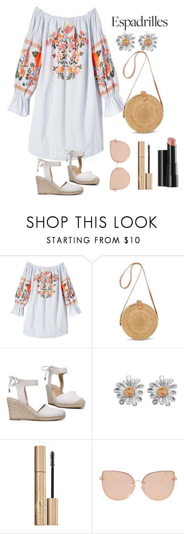 """79"" by serena-allison ❤ liked on Polyvore featuring Free People, Franco Sarto, Arbonne, Stila and Topshop"