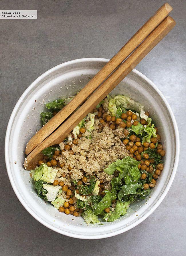 Me estoy viciando con lo de preparar ensaladas en invierno, un plato que muchas veces se asocia a los meses más calurosos pero que aprovechando los ingredien...