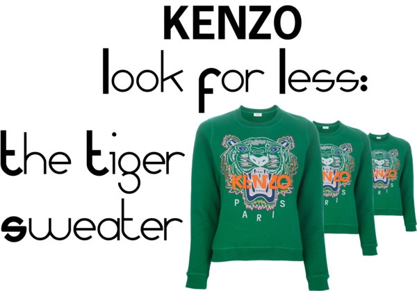 Titolo Kenzo Look For Less #lookforless #thelookforless #kenzo #tigersweater #tiger #whattowear  #fashion #aloserlikeme #fashionideas #inspiration #fashioninspiration #fashion #blogger #fashionblogger