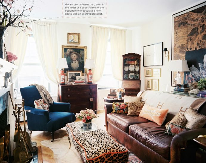 Jessika Goranson Lonny Magazine Upper East Side Apartment In Manhattan Nyc New York