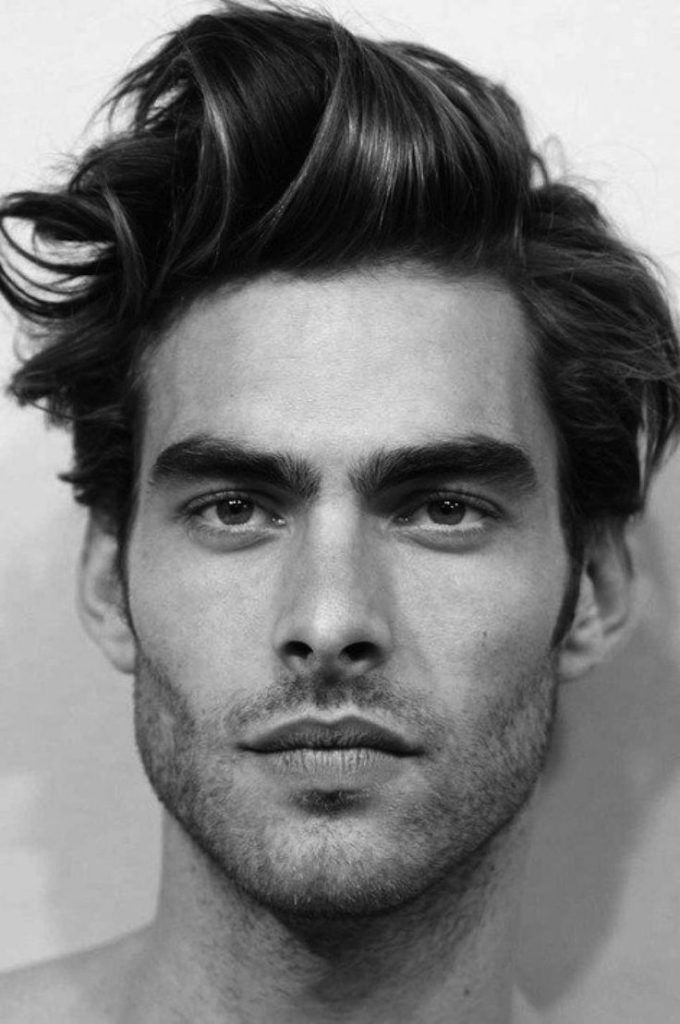 Messy Men Hairstyle