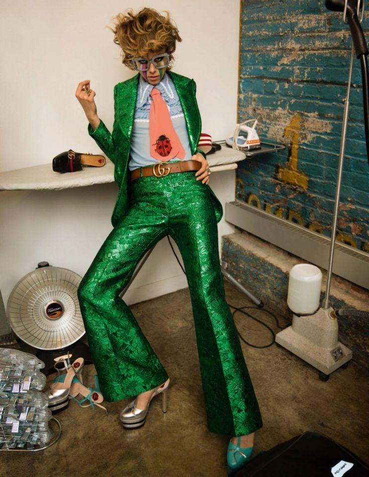 Инез ван Ламсвеерде и Винуд Матадин | «Vogue» Париж, февраль 2016